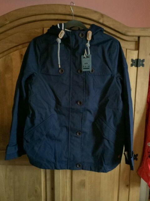 Joules Coast Womens Jacket Coat French Navy All Sizes
