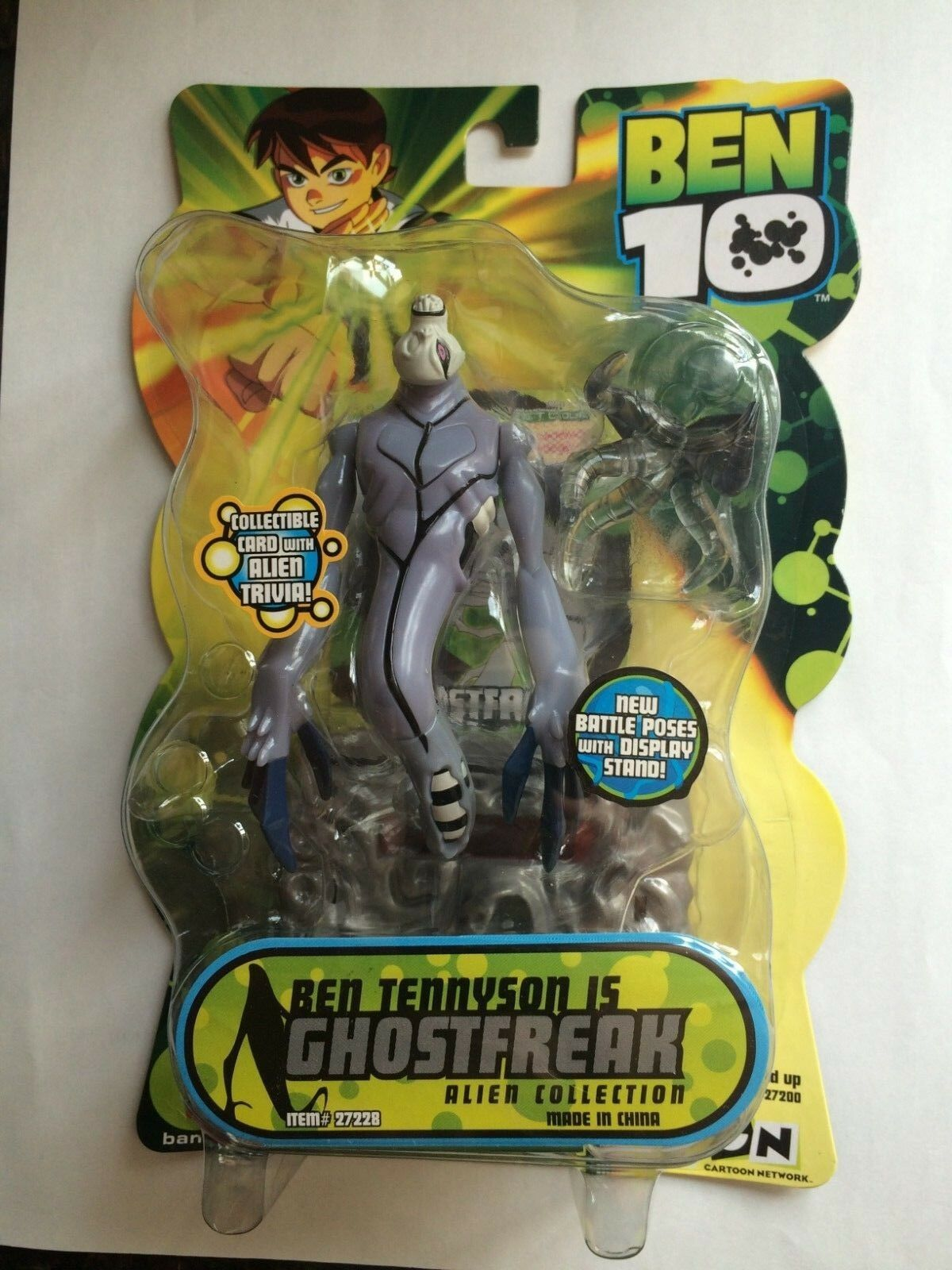 Bandai Cartoon Network BEN 10 ALIEN COLLECTION COLLECTION COLLECTION GHOSTFREAK  MOC  U.S. seller 1ea355
