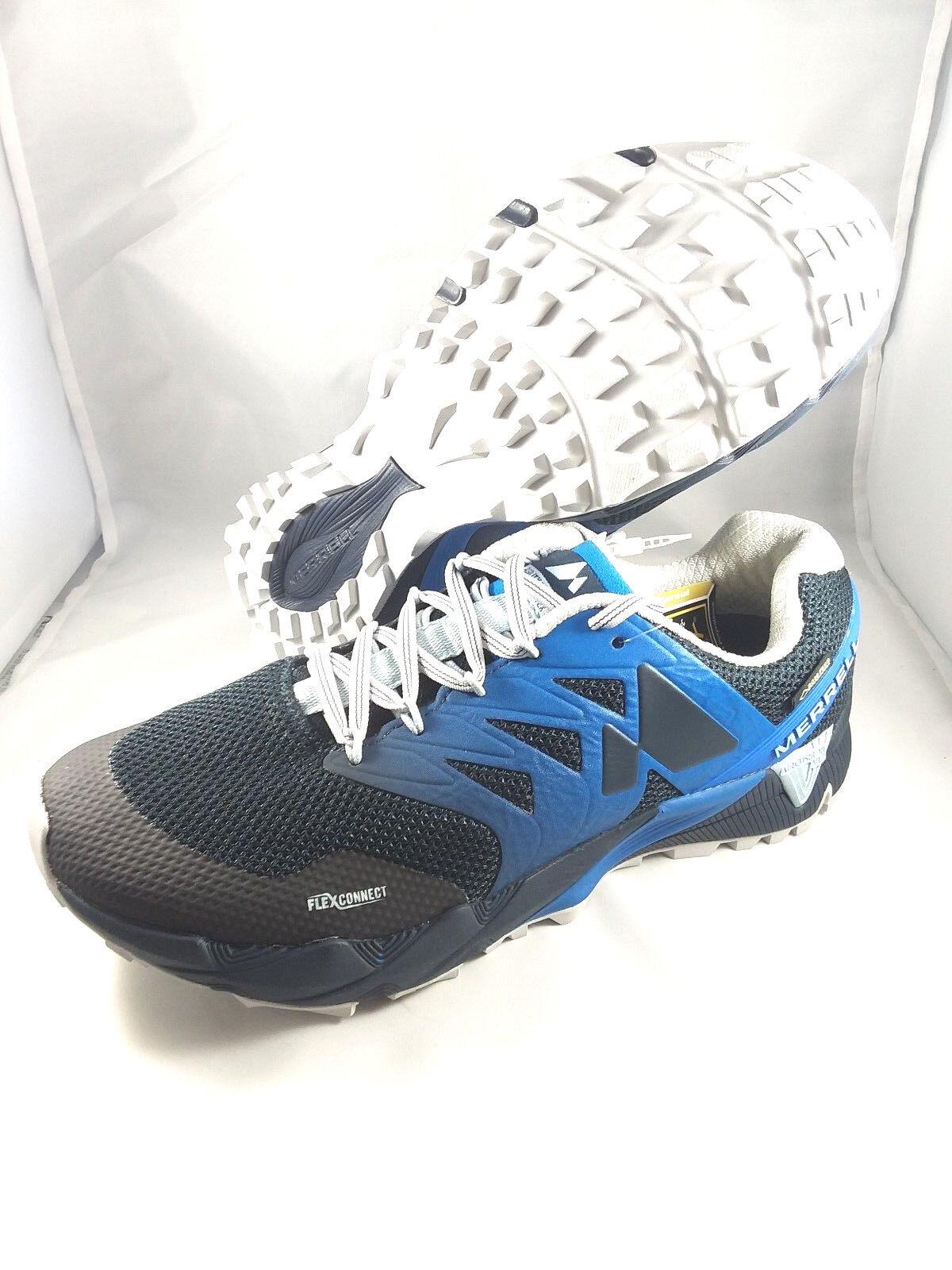 Merrell Agility Peak Flex 2 GTX GoreTex Mens Trail bluee J598379 Retail