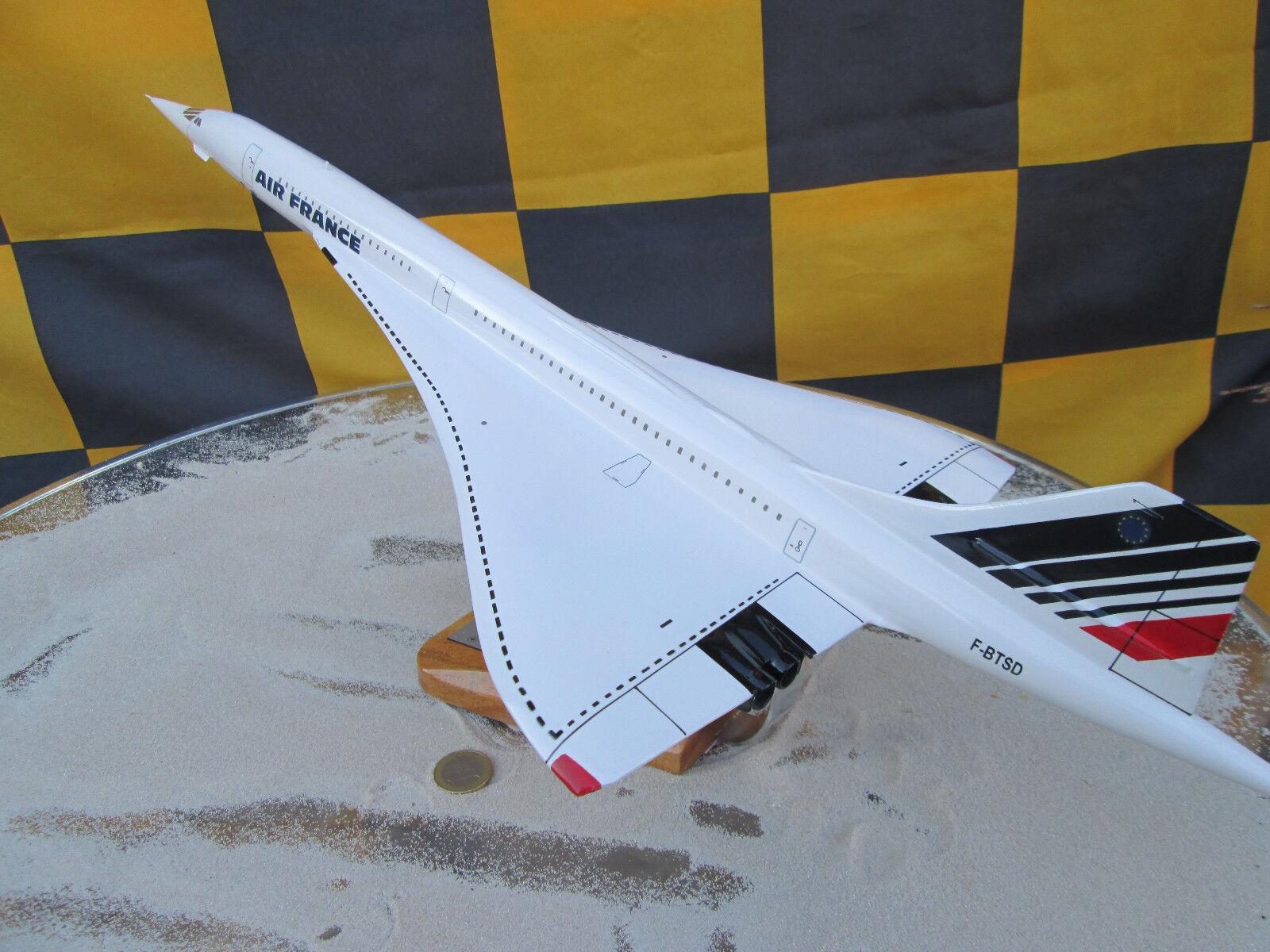 Concorde AirFrance F-BTSD XXL 1 100  Avion   YAKAiR Woodmodel Avion