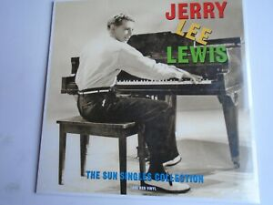 JERRY-LEE-LEWIS-Sun-Singles-Collection-vinyl-LP-new-mint-sealed-180g-red