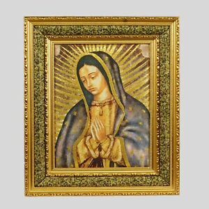 Virgen De Guadalupe Mc Double Fiber