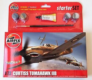 NEW-AIRFIX-1-72-SCALE-CURTISS-TOMAHAWK-MODEL-KIT-A55101
