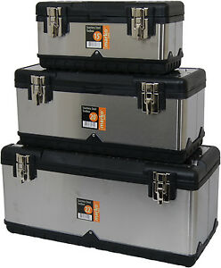 Heavy Duty Large Metal Tool Box Stainless Steel