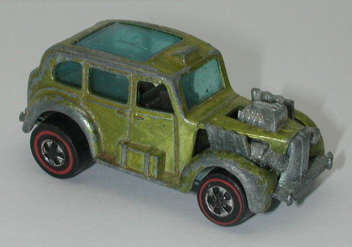 rossoline Hotwheels giallo 1971 Cockney Cab oc14603