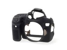 easyCover Pro Silicone Skin Camera Armor Case to fit Canon EOS 70D DSLR Black