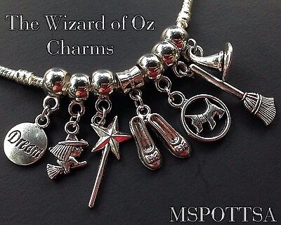 or European dangle for charm bracelets all discount Wizard of Oz Clip on charm