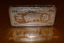 10 oz Bar 0.999 Fine Silver Buffalo SPCM Bar American mint Ten Troy Ounces