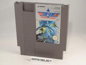 TOP-GUN-2-THE-SECOND-MISSION-NINTENDO-NES-8-BIT-PAL-A-ITA-ITALIANO-ORIGINALE