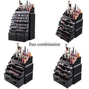 New-Acrylic-Makeup-Organizer-Drawers-Cosmetic-Case-Holder-Jewelry-Storage-Box