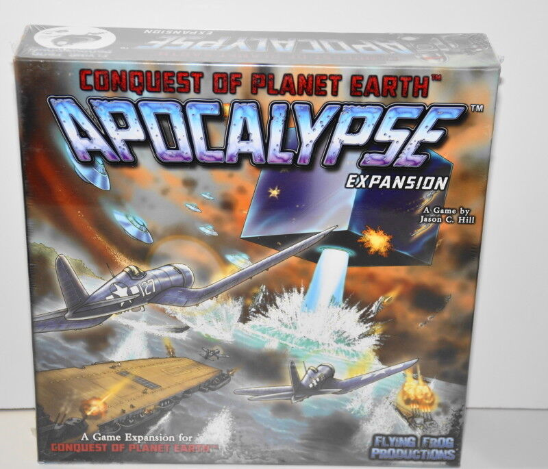 Conquest of Planet Earth Apocalypse Expansion Box Flying Frog Productions 2012