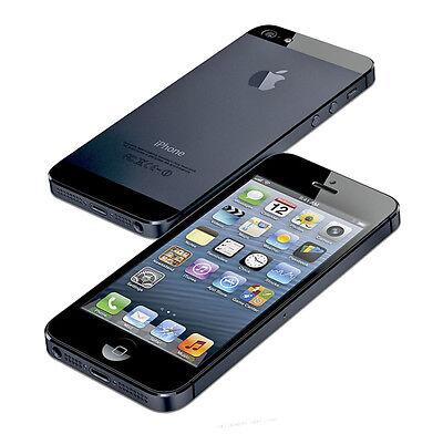 APPLE IPHONE 5 16GB - SCHWARZ - OHNE SIMLOCK - OHNE VERTRAG - MIT RECHNUNG - TOP