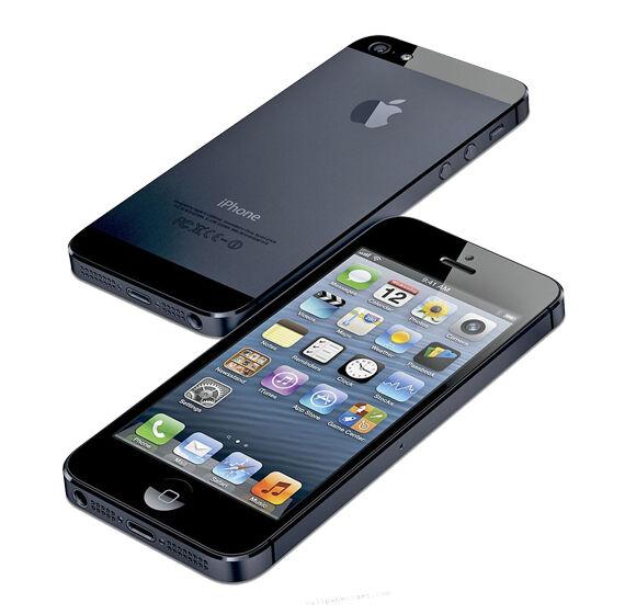 APPLE IPHONE 5 32GB - SCHWARZ - OHNE SIMLOCK OHNE VERTRAG - MIT RECHNUNG
