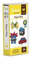 Cricut Paper Play Art Projects Cartridge Puppets, Dolls, Cootie Catcher