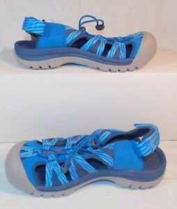 9a4abefd098e Details about NEW KEEN VENICE II H2 Skydiver Blue Opal Women s Hiking  Sandal SAMPLE Size 7