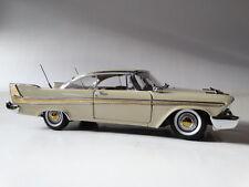 Danbury Mint 1958 Plymouth Fury 1:24 Scale Die Cast Classic Replica Model Car