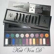 Genuine Kat von D metalmatte Eyeshadow Palette NUOVO CON SCATOLA EDIZIONE LIMITATA