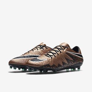 e9846ad598b31 Nike Men s Hypervenom Phinish FG Sz11 Red Bronze 749901 903 Liquid ...