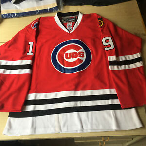 official photos 9f36f 2e66d Details about Brand New MLB NHL Replica Chicago Cubs Hockey Jersey.Any  size,name,and number