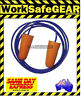 OnSIte Safety Disposable corded Foam Earplug Class 5 27DB 100 pair Soft Smooth