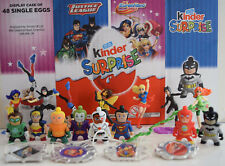 Kinder Surprise DC Justice League & Super Hero Girls - Choose your Toys