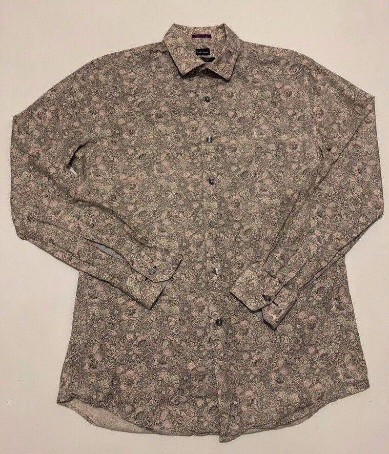Paul Smith floral long sleeve shirt