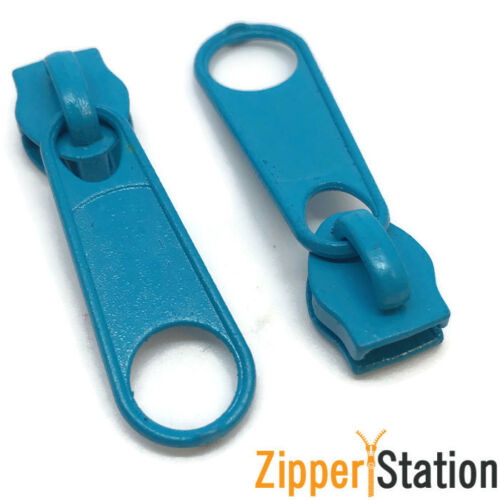 No3 Zip slides pulls #3 fastenings for continuous nylon coil zipper