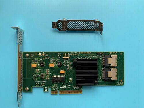 RAID LSI SAS 9211-8i 8-port 6Gb//s Internal IR-MODE ZFS JBOD HBA // IT-MODE