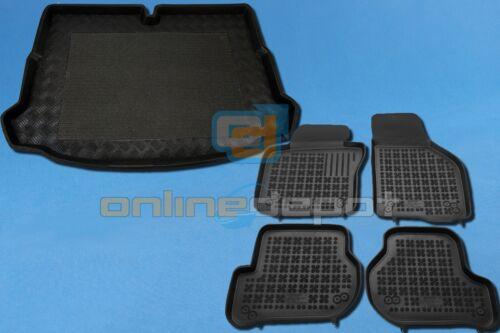 Gummi-Fußmatten+Kofferraumwanne VW SCIROCCO III ab 2008 5-Sitzer