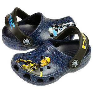 b63ba05245 Crocs Classic Star Wars Toddler 200122-422 R2-D2 C3P0 Clogs Baby ...