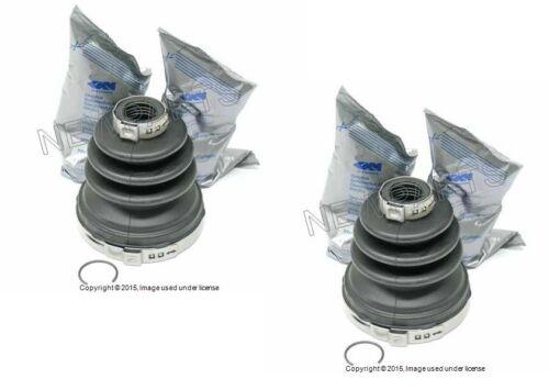 Mini Cooper R50 r52 2x Front Inner Axle Boot Kit for C//V Joint Left Right OEM