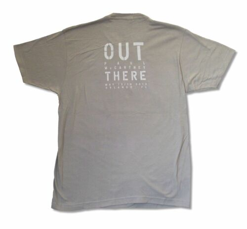 Paul Mccartney Out There Orlando Event Grey T Shirt New Official 2013 Tour