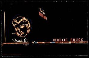 HOLLYWOOD-Los-Angeles-USA-Amerika-Moulin-Rouge-Bar-Vintage-Postcard-1960-70