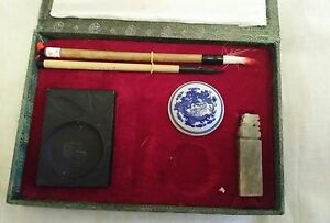 VINTAGE OLD CALLIGRAPHY SET  BOXED - Cleethorpes, United Kingdom - VINTAGE OLD CALLIGRAPHY SET  BOXED - Cleethorpes, United Kingdom