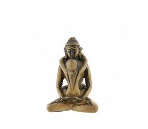 Soprammobile Budda Tibetano Samantabhadra IN Resina 8cm NEP312-3171
