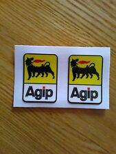 AGIP style Motorbike Motorcycle Fork Decals Stickers Belly Pan Fairing Toolbox