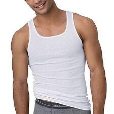 372 Hanes Mens White A-Shirt 3-Pack