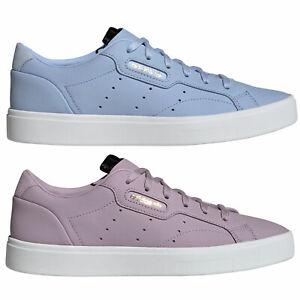 Adidas Original Sleek Baskets Damen Chaussures de Sport à Lacets Basses