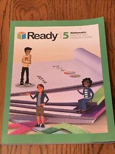 Ready Mathematics Student Workbook Grade 5 Practice & Problem Solving Homeschool