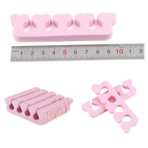 20-X-Soft-Sponge-Foam-Finger-Toe-Separator-Nail-Art-Pedicure-Manicure-Tools