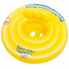 INFLATABLE BABY SWIM SAFE SWIMMING POOL FLOAT SEAT 0-1 YEAR STEP A RING BW32096