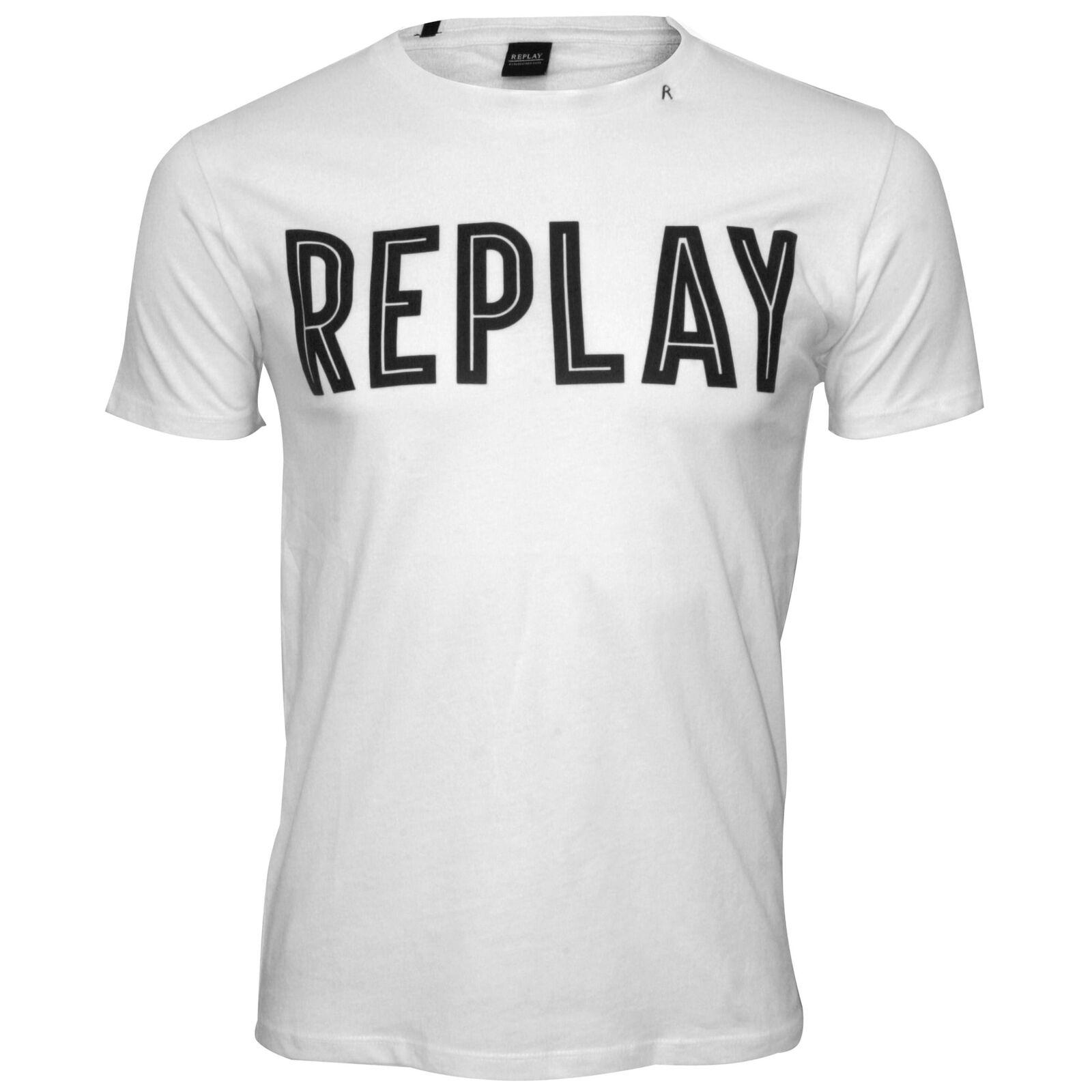 ... REPLAY Logo in grassetto Logo REPLAY T-shirt Uomo b2b7b70f40f