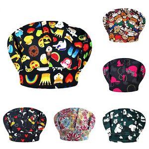 Surgery Doctor Cap Hospital Medical Scrub Women Cotton Bouffant Nurse Clinic Hat
