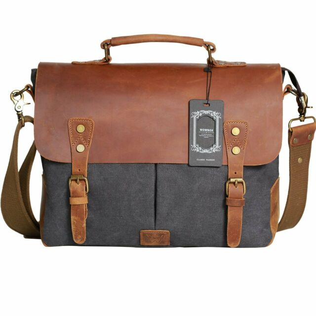 297d6e5f36 Wowbox Messenger Satchel bag for men and women