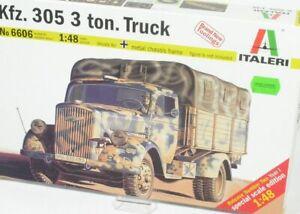 1-48-Kfz-305-3-Ton-Truck-Bausatz-Italeri-6606-NEU-OVP