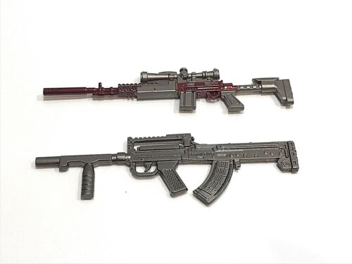 "Pubg- : 1//12 Druckguss Metall M41 /& Groza Spielzeug Pistolen For 6 /"" ~ 9 + 10"