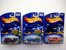 NOS 2001 Lot of 3 Hot Wheels Redlines (2 Race & Win)-Ford Vicky-Side Kick-Chevy