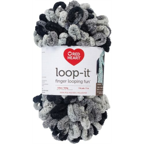Red Heart Yarn Loop-it-school Of Rocks