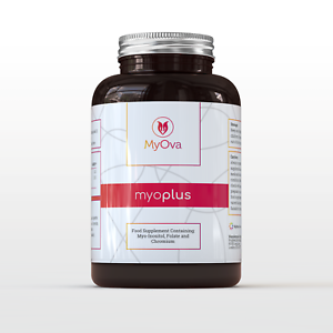Details about MyOva supplement for PCOS: Myo-inositol + Folate + Chromium |  made in the UK