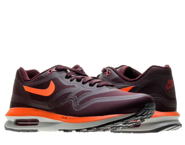 Nike Air Max Lunar1 WR Deep Burgundy Men's Running Shoes 654470 600
